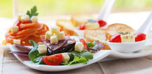 チーズオイル漬のワンプレートランチ
