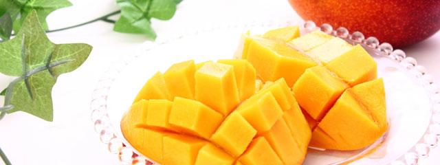 完熟マンゴーは栄養満点!ダイエットにも最適!